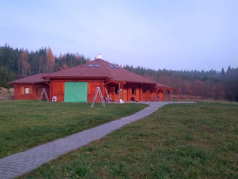 Dětské bezbariérové centrum Březiny při natáčení hudebního videoklipu - listopad 2014.